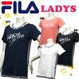 【送料無料】【FL9579】 FILA フィラ Tシャツ 女性用文字プリント トップスダンス エアロビクス エクササイズ フィットネス レディース おしゃれ  05P21May14