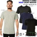 【送料無料】【MM006】 XTM メンズ インナーシャツクルーネック 丸首 tシャツ 半袖メリノウ