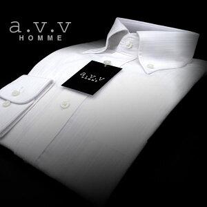 ドビーセミワイドカラー・ボタンダウン・シャツ ワイシャツ ビジネス