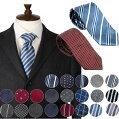 ネクタイ洗える好印象のビジネスネクタイ12柄|ビジネス就活ストライプブルーレッドネイビーグレーメンズ