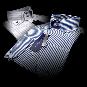 ブランド・長袖/半袖ドレスシャツ2枚で¥3,990【ドレスシャツ/ブランドシャツ/ワイシャツ/Yシャツ】・福袋2枚セット_セット例