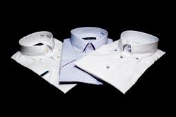 有名ブランド・半袖ドレスシャツ【ドレスシャツ/ブランドシャツ/ワイシャツ/Yシャツ/形態安定】