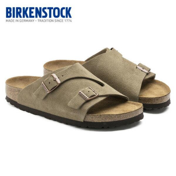 【・送料込(一部地域を除く)】 ビルケンシュトック BIRKENSTOCK Zurich Soft Footbed/チューリッヒ ソフトベッドトープ1009532(幅レギュラー)1009533(幅ナロー)