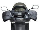ハンドルカバー(ブラック)フリーサイズバイク用/ビッグスクータービッグバイクスクーターカブ等