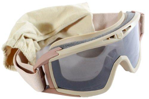 【送料無料】Rタイプアサルトゴーグルタクティカルゴーグルカバー付レンズ3枚付きTANタンカラー茶色