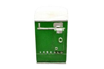 【送料無料】1/18 American Diorama Accessory - Vending Machine 自動販売機 自販機 ジオラマ 模型 (グリーン)