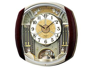 便利雑貨 セイコー SEIKO からくり時計 電波時計 掛け時計 RE564H