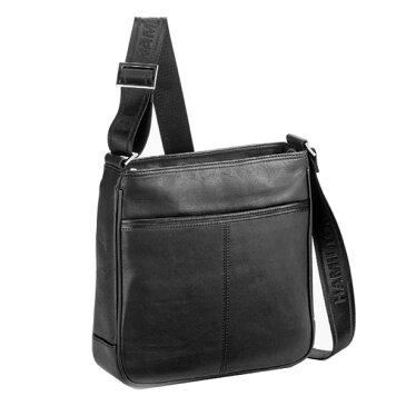 日用品雑貨 メンズ ハミルトン HAMILTON 馬革 ショルダーバッグ メンズ 16381 ブラック