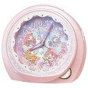 日用品雑貨 ユニセックス セイコー SEIKO フェアリル ユニセックス 目覚まし時計 CQ151P ピンクパール