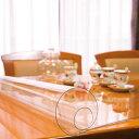 家事用品関連商品 日本製 透明テーブルマット(1mm厚) 約1000×1800長 TC1-1810