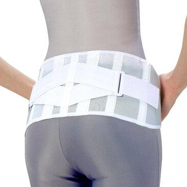 矯正グッズ関連 腰椎医学(R) コルセット 滑車式スリムライト 白 Sサイズ