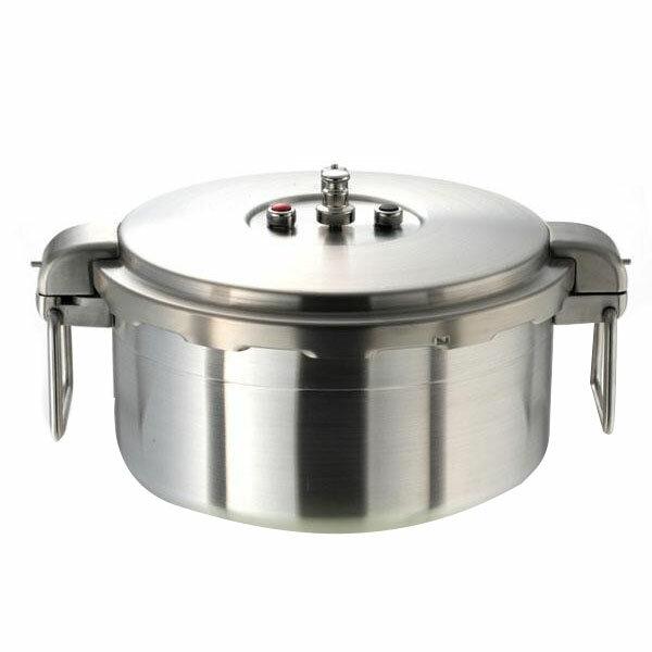 鍋(パン) ワンダーシェフBIG SIZE プロビッグ2 業務用浅型圧力鍋16L 610201:創造生活館
