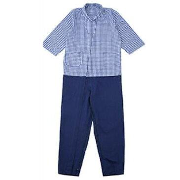 介護用 つなぎパジャマ レッド・S・38808-24