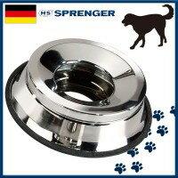 ペット用品 正規輸入品 ドイツ ノンスピルウォーターボウル ステンレス Lサイズ・5861827056