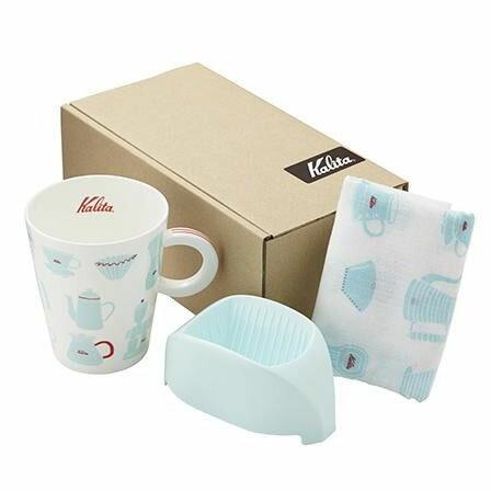 調理用品 Kalita(カリタ) ほっこりギフト(1人用) BL ブルー 73114