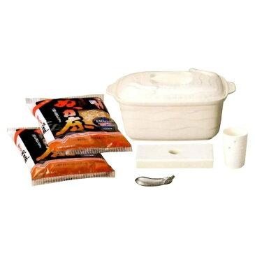 調理小道具・下ごしらえ用品 ホワイトぬか漬鉢セット 34-56-10