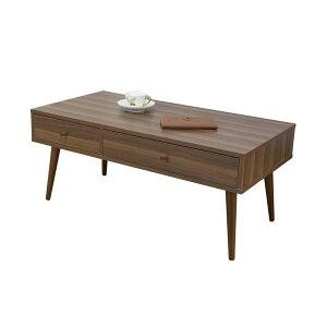 家具/収納引出し付きリビングテーブルLT-800WH・ホワイト