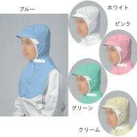 布製衛生キャップ QC-001(男女兼用) L ×5枚 ホワイト