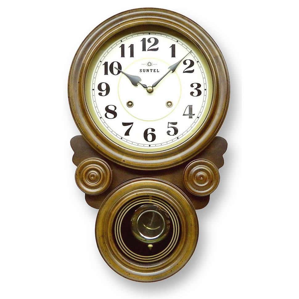 置物・掛け時計 ボンボン振り子だるま時計(アラビア文字) QL687:創造生活館