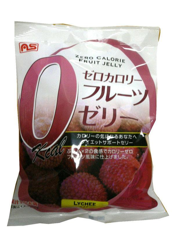 お菓子 美味しい ランキング ゼロカロリーゼリーライチ味7個 ×20袋セット 25574