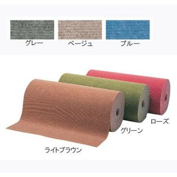 敷き物 裏面はエンボスラバーで、保温性・クッション性にも優れています。 インテリア おすすめ パンチカーペット ロールタイプ ループパンチ ローズ