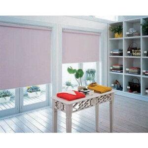 タチカワTIORIOティオリオロールスクリーン遮光2級防炎規格品巾95×高さ200cmTR-3365・ピンク