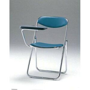 SCF02-CXM折畳み椅子・メモ板付チェアダークブラウン