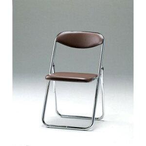 SCF14-CXB折畳み椅子・バネ座タイプブルー