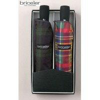 服飾雑貨bricelerブライスラー折りたたみ傘らくらく自動開閉ミニ傘(強力撥水加工)2色セットBR54AUT/TPSET