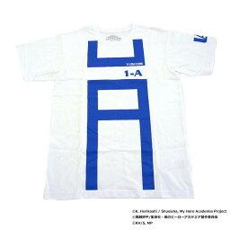 僕のヒーローアカデミア Tシャツ 雄英高校1-A 体操着柄 X513-821 000 ホワイト M