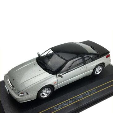 玩具 関連商品 モデルカー ミニチュア 車オブジェ スバル アルシオーネ SVX 1991 シルバー 1/43スケール F43057
