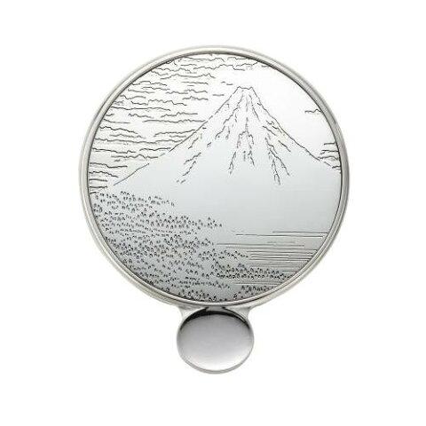 服飾雑貨 小物 カタガミメタル 手鏡S 赤富士 KA-150/おしゃれなデザイン