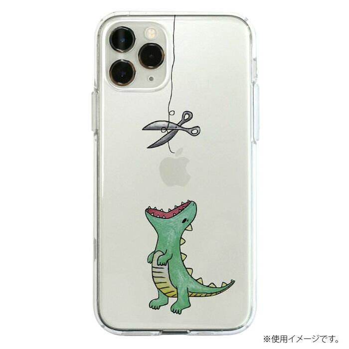 流行 生活 雑貨 iPhone 11 Pro Max ソフトクリアケース ファンタジー はらぺこザウルス グリーン DS17288i65R