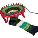 手芸・クラフト・生地関連 ピンに糸をかけるだけ!リリアンみたいな輪編みツール