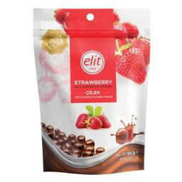 便利グッズ アイデア商品 エリート ミルクチョコレート ストロベリー 125g 12セット お得 な全国一律 送料無料
