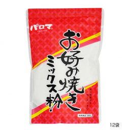 食品類関連 和泉食品 パロマお好み焼きミックス粉(山芋入り) 500g(12袋) オススメ 送料無料