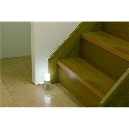 人感センサー ライト 乾電池式 玄関・クローゼットなどの明かり取りに 乾電池式LED屋内センサーライト スタンドタイプ ホワイト 昼白色