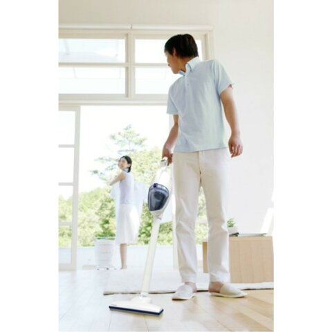 掃除機 2WAY 簡単水洗い ハンディクリーナー カラー:パールホワイト