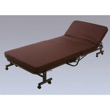 組立不要 低反発 ウレタン を使用 簡単 折りたたみベッド