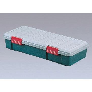 ボックス 収納 ステーションワゴンの、ラゲッジスペース 安全 RVBOX グレー/ダークグリーン 4点セット