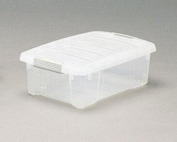 整理ボックス 分別収納 ちょうどいい大きさ 丈夫 バックルBOX クリア 10点セット