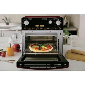 ノンフライオーブン フライヤー オーブン トースター が合体した新しい 調理器具 人気商品 ノンフライ熱風オーブン レッド