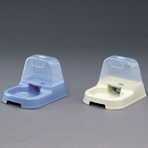 自動給水 ペット 給水器 タンクから自動的に給水され一定量でストップ!ライトブルー