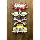 アメリカン雑貨 ウォールデコ アメリカンスタイル アメリカンスタイルウォールデコ Garage