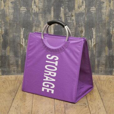 バッグ 洗濯かご ネイルサロン ストレージサロン バッグ カラー:パープル