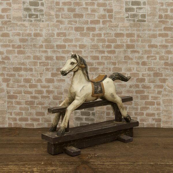 オーナメント 凛々しい顔つき お洒落 アメリカ雑貨 オブジェ ホース SWING HORSE