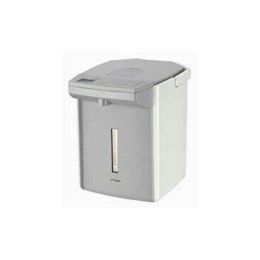 日用品 便利 ユニーク タイガー 電動給湯式電気ポット 「蒸気レスVE電気まほうびん 蒸気レスとく子さん」(2.2L) ホワイト PIJ-A220WW