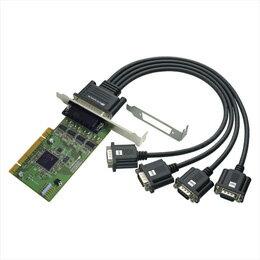 お役立ちグッズ ラトックシステム 4ポート RS-232C・デジタルI/O PCIボード REX-PCI64D