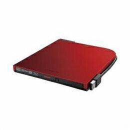 BRXL-PT6U2V-RDD BDXL対応 USB2.0用 ポータブルブルーレイドライブ スリムタイプ レッド BRXL-PT6U2V-RDD
