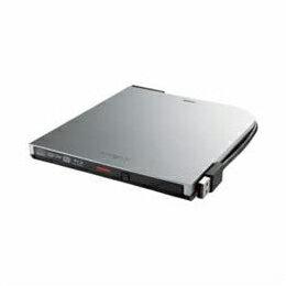 BRXL-PT6U2V-SVD BDXL対応 USB2.0用 ポータブルブルーレイドライブ スリムタイプ シルバー BRXL-PT6U2V-SVD